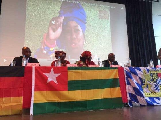 Tournée de Fousséna Djagba en Allemagne.