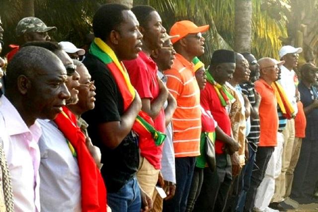 La coalition des 14 accuse Aboudou Assouma d'être à la solde du pouvoir de Gnassingbé