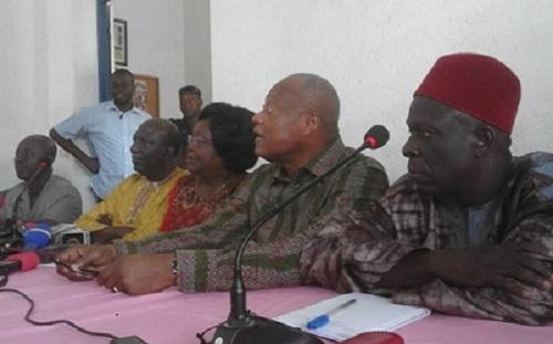 Togo : La Coalition des 14 fait le compte rendu des dernières discussions à ses partenaires