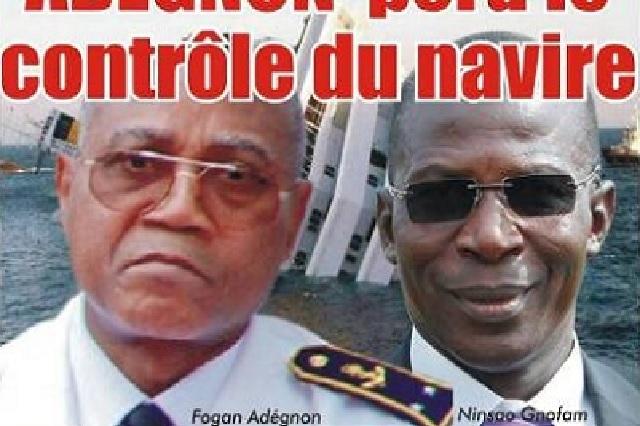Dossier/ Naufrage du Port Autonome de Lomé : Le Contre-Amiral ADEGNON perd le contrôle du navire
