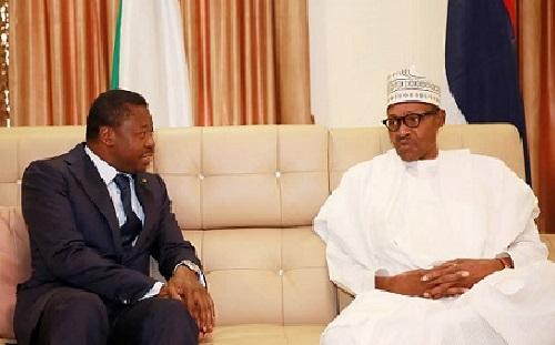 Togo : Faure Gnassingbé heureux de rencontrer Muhammadu Buhari