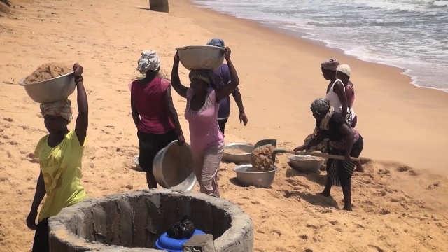 Togo, Erosion côtière : Quand la mer avance…