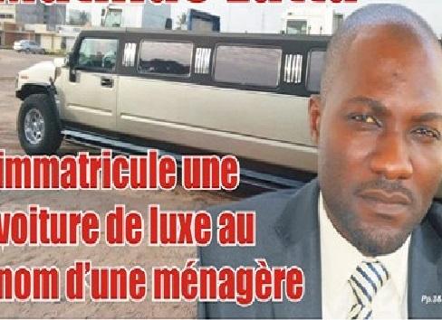 Mégalomanie : Mathias Latta immatricule une voiture de luxe au nom d'une ménagère