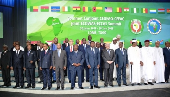Sommet CEDEAO-CEEAC de Lomé : Le Togo plaide pour le droit de poursuite, l'extradition des criminels et la levée des obstacles judiciaires