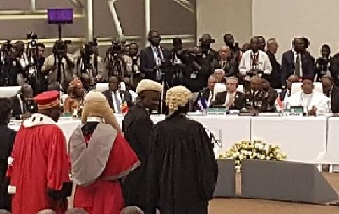 Togo : Cérémonie de prestation de serment devant les chefs d'Etat de la CEDEAO