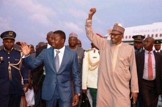 Togo : Buhari remplace Faure