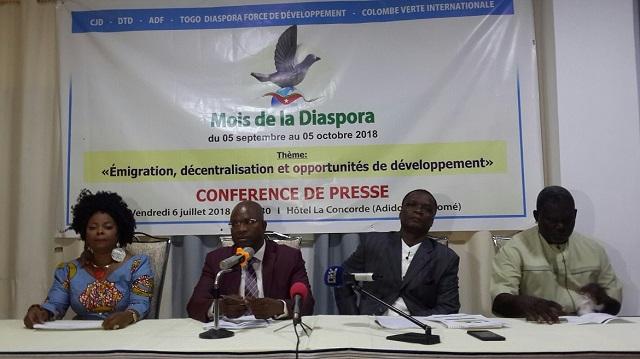 Le 'mois de la diaspora', une initiative du CJD pour former les Togolais