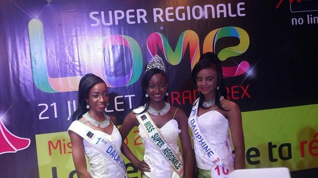 Rebecca Pignang porte le flambeau de la régionale de Lomé à Miss Togo 2018