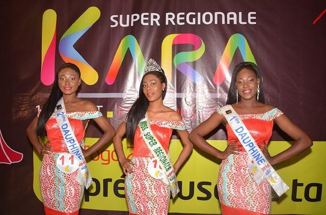Togo : Jhyna Raïssa Kpotufé et ses 6 accompagnatrices pour enlever le trophée de Miss Togo 2018
