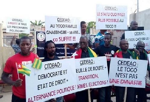Togo : Togo Debout rappelle les exigences du peuple togolais aux chefs d'Etat de la CEDEAO
