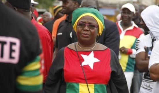Élections législatives : « Nous n'allons pas répondre à cette demande de la CENI »,  indique Mme Adjamagbo