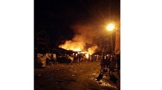 Lomé : 8 personnes ont péri dans un incendie à Hédzranawé