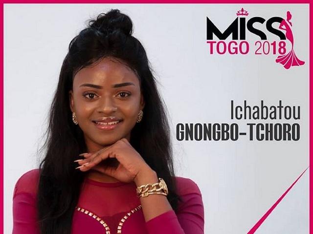 Togo : Ichabatou Tchoro Gnongbo, Miss Togo 2018