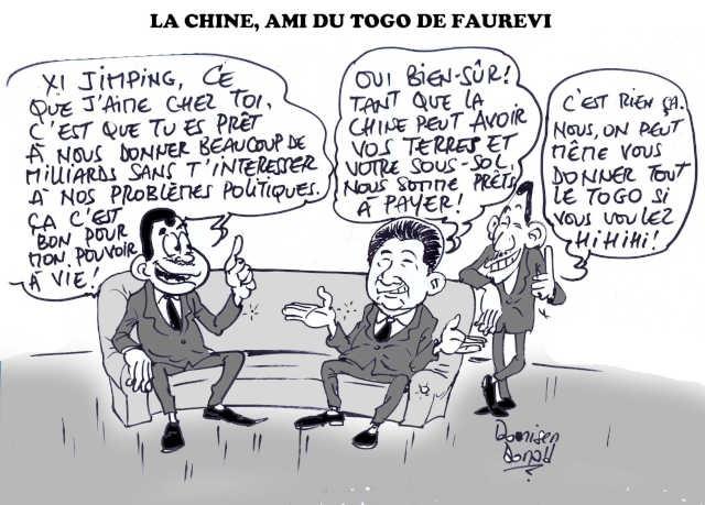 Togo / Chine : Xi Jinping, le Nouveau Messie de Faure Gnassingbé