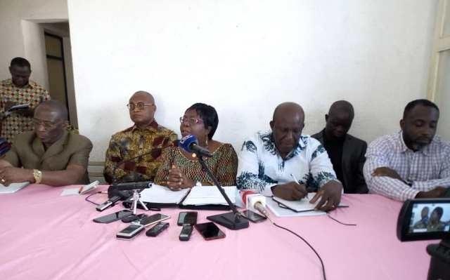 Mme Brigitte Adjamagbo-Johnson : « Les Togolais sont restés sur leur soif »