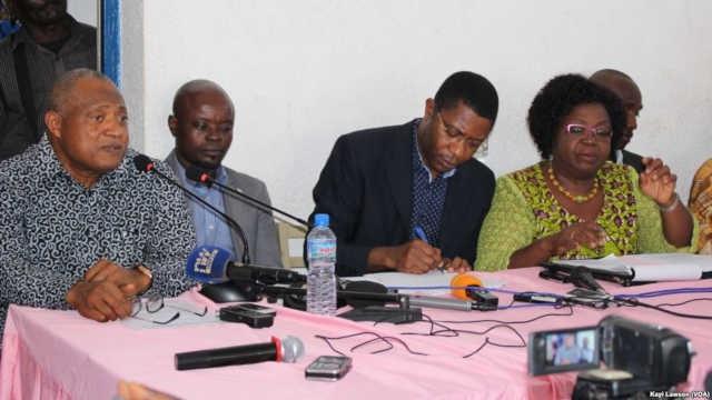 L'opposition togolaise appelle le peuple à redescendre dans la rue