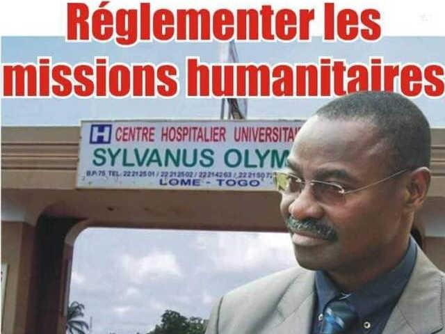 Les limites du système de santé au Togo : Réglementer les missions humanitaires