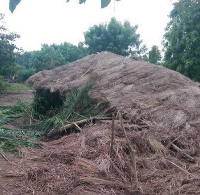 Togo-Afagnan : une classe de fortune s'écroule blessant des élèves de l'EPP Kpotémé