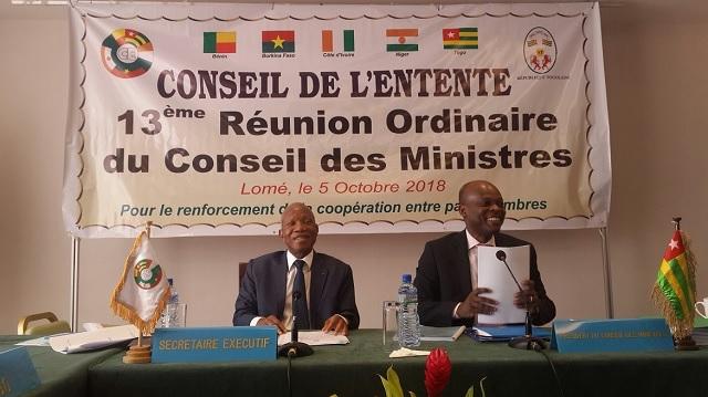 Le Conseil de l'Entente appelle le Togo à l'organisation 'inclusive' et 'apaisée' des élections