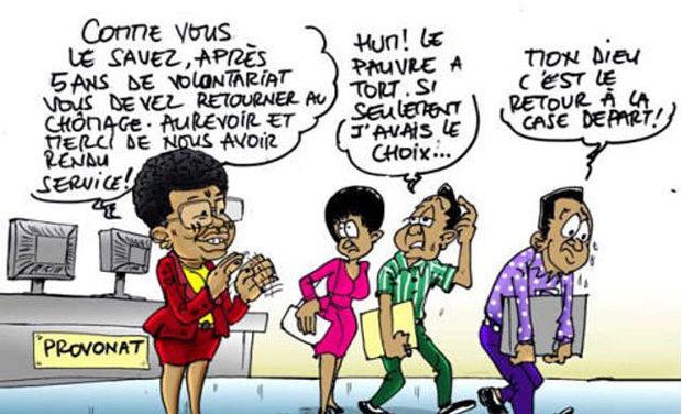 « Lutte » contre le Chômage au Togo : Quand le gouvernement s'embrouille.
