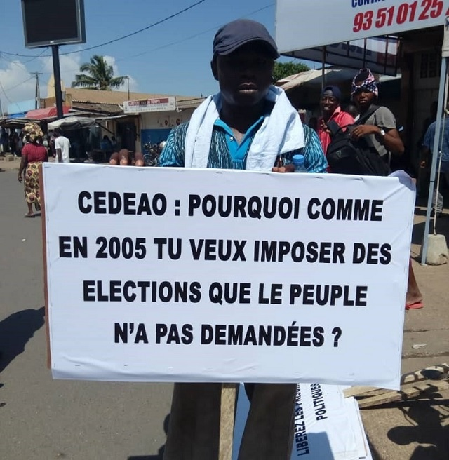 Jean-Pierre Fabre: 'Personne ne peut nous obliger à nous présenter à ces élections'