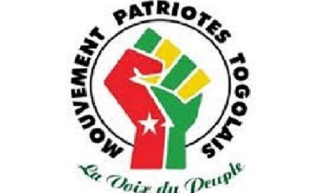 Togo : Le Mouvement Patriotes Togolais appelle les populations à participer massivement à la marche de demain