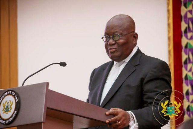 Le président ghanéen Nana Akufo-Addo.