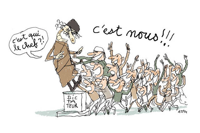 Caricature : DR