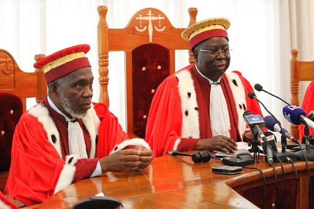 L'éternel président de la Cour Constitutionnelle du Togo, le RPT-UNIRiste Aboudou Assouma
