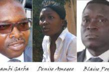 Quelques-uns des protagonistes dans le dossier Dr. Amegee Victor | Infog : La Nouvelle
