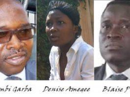 Quelques-uns des protagonistes dans le dossier Dr. Amegee Victor   Infog : La Nouvelle
