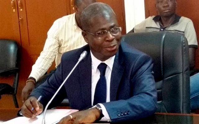 Delato Agbokpe, DG des Transports routiers et ferroviaires | Archives : togotribune