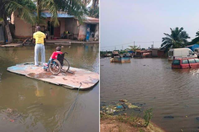 Agbalépédo, un « village lacustre » en plein Lomé, Togo | Photos : Fovi Katakou