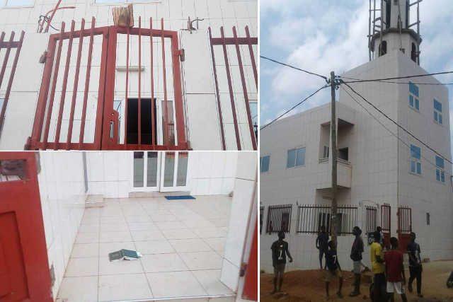 Une mosquée vandalisée à, Agoe Assiyéyé, Lomé, Togo, 28 juillet 2018 | Photo : Akondo Ali /FB