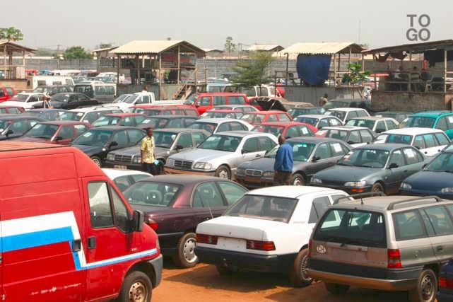 Des voitures d'occasion au Port Autonome de Lomé | Photo : RT