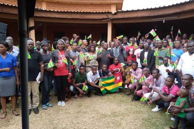 Universités sociales du Togo : Les participants aux rencontres citoyenne de Kpalimé | Photo : S.A