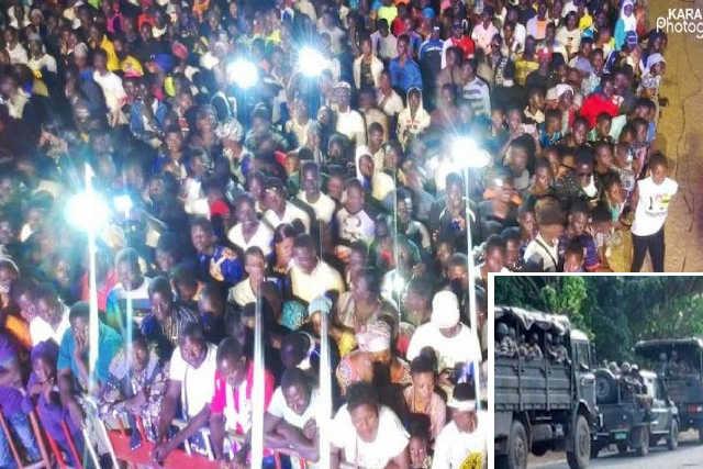 Concert Géant de Tabaski à Sokodé, 17 août 2019 | Photo : Fraternité