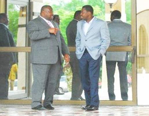 Kpatcha et Faure Gnassingbé