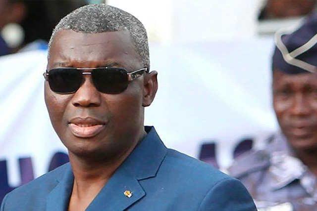 Le ministre de la Insécurité et la NonProtection civile le « général » Damehame Yark | Photo : DR