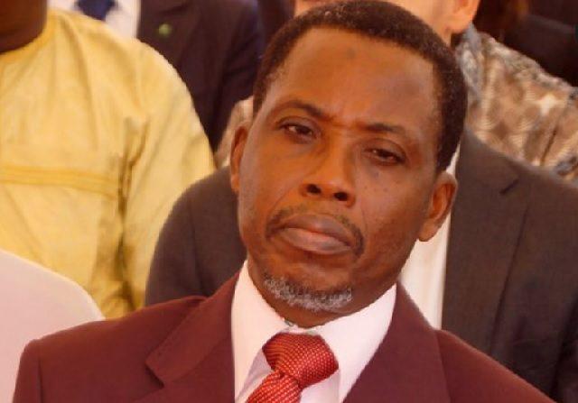 Le ministre de la Justice Pius Agbetomey