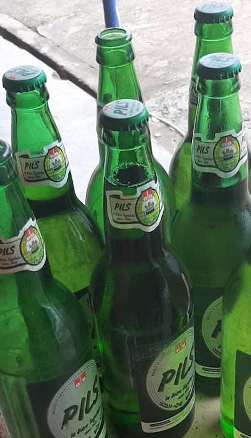 Bière Pils produite par la Brasserie BB, Togo | Photo : L'Indépendant Express