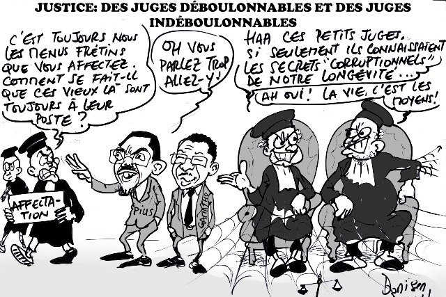 Caricature : Donisen Donald / Liberté Togo