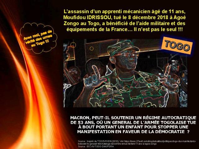 Infog : RCDTI & CUV-Togo-Diaspora