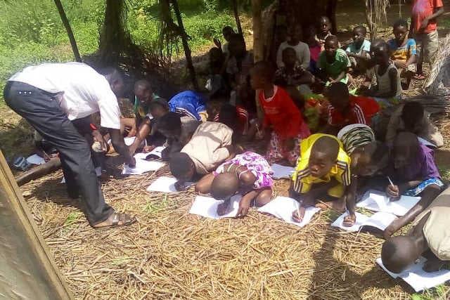 Une salle de cours à l'EPP Dankpen, Togo | Archives : DR