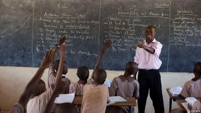 Photo illustration seulement / Unesco