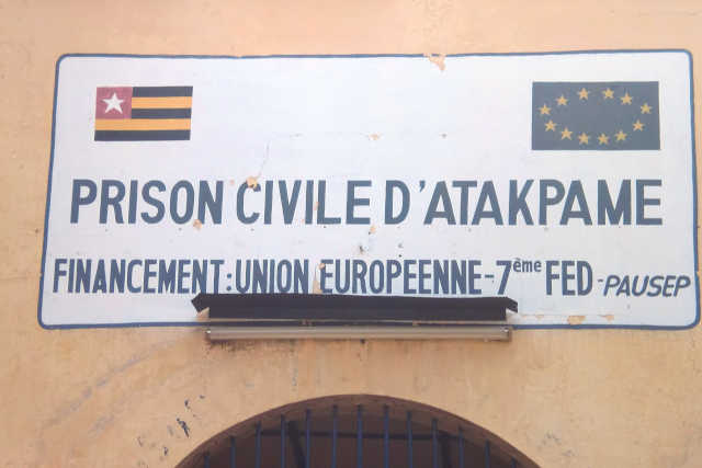 Prison civile d'Atakpamé, Togo   Photo : DR