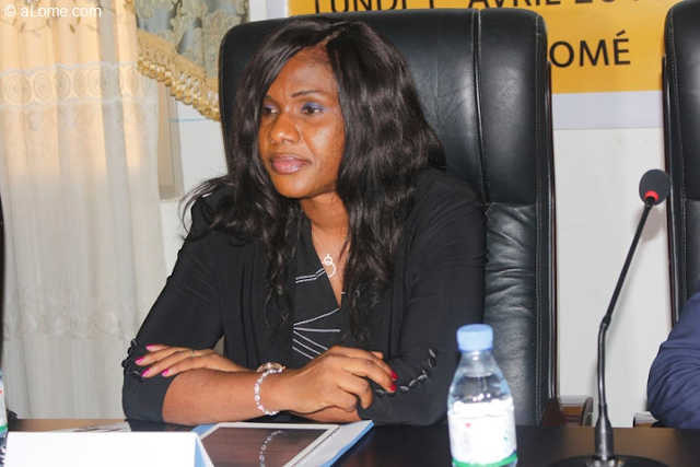 Sandra Johnson, Conseillère de Faure Gnassingbé et Coordonnatrice nationale de la Cellule climat des affaires au Togo | Photo : DR