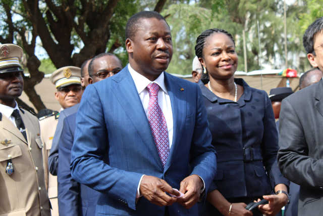 Le couple Faure Gnassingbé et Cina Lawson | Photo : DR