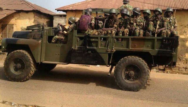 Des éléments des Forces Armées Togolaises | Archives : DR