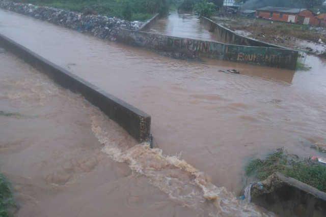 Inondation à Lomé, 02 octobre 2019 | Photo : Le Correcteur
